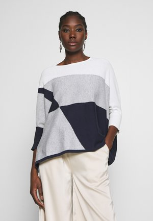 TJELVA BLOCKING - Jumper - smart blue
