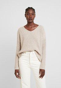 someday. - TRISH - Sweter - natural sand - 0
