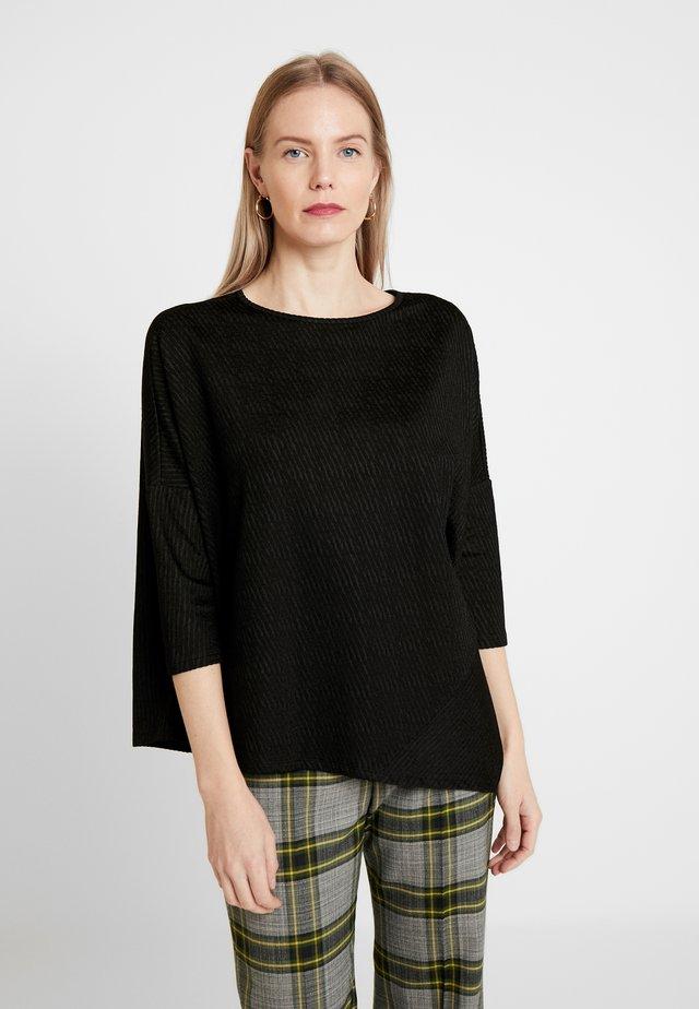 UMEKA - Long sleeved top - black