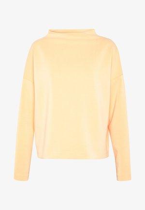 UPITA - Topper langermet - silky orange