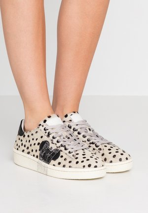 Trainers - pois/silver glitter