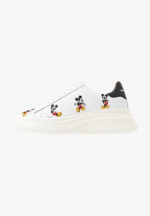 DOUBLE GALLERY MICKEY EMBROIDERY - Sneakers - white