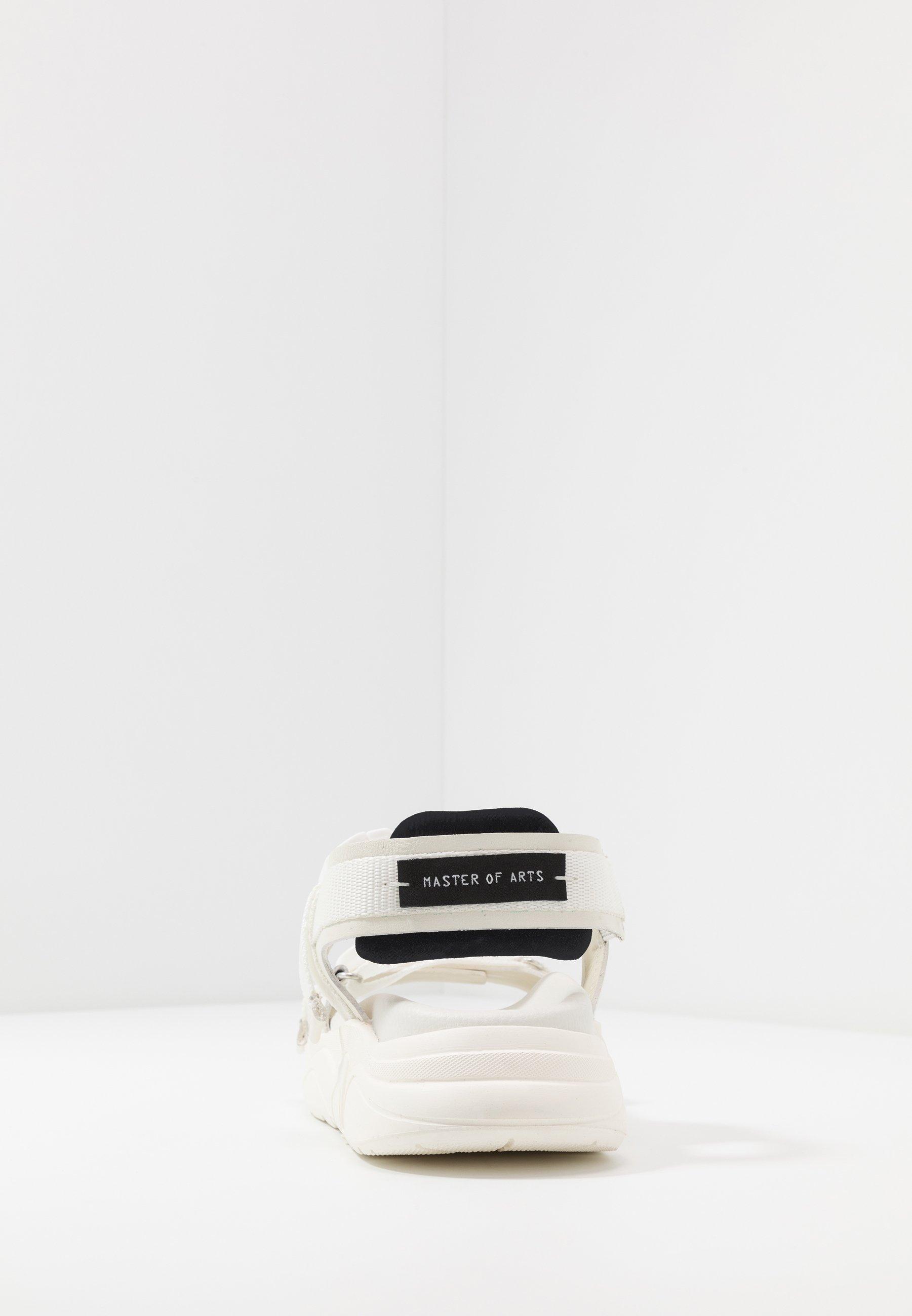 Moa - Master Of Arts Sandalen Met Plateauzool Total White Goedkope Schoenen