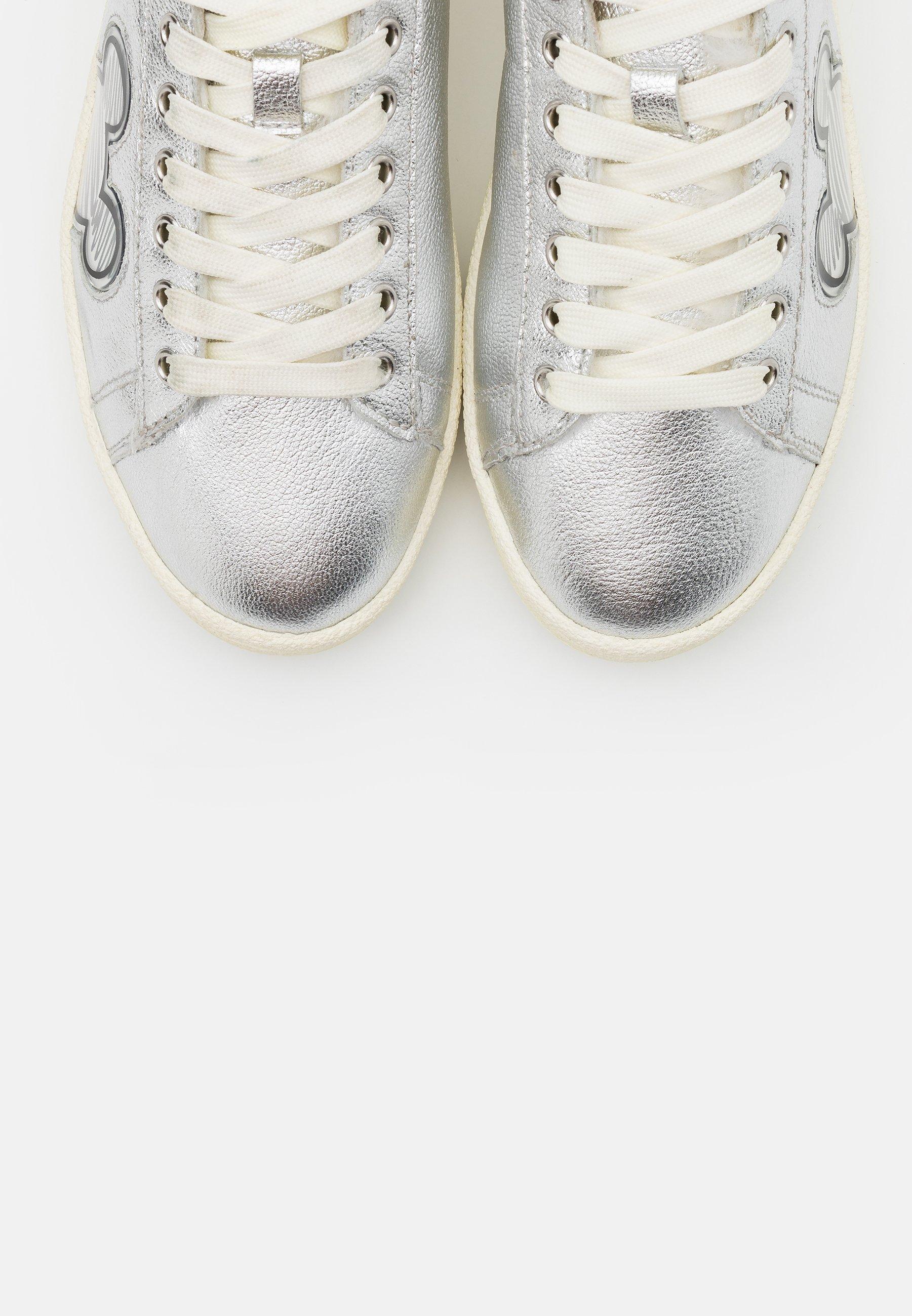 Duża obniżka Zniżka MOA - Master of Arts Sneakersy niskie - silver | Obuwie damskie 2020 cKMjc