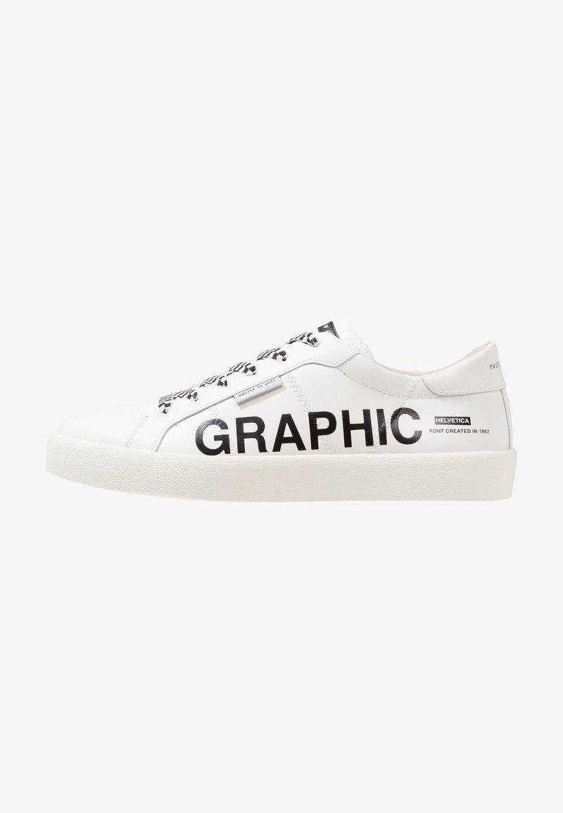 MOA - Master of Arts - MAN FRIEZE  - Sneaker low - white