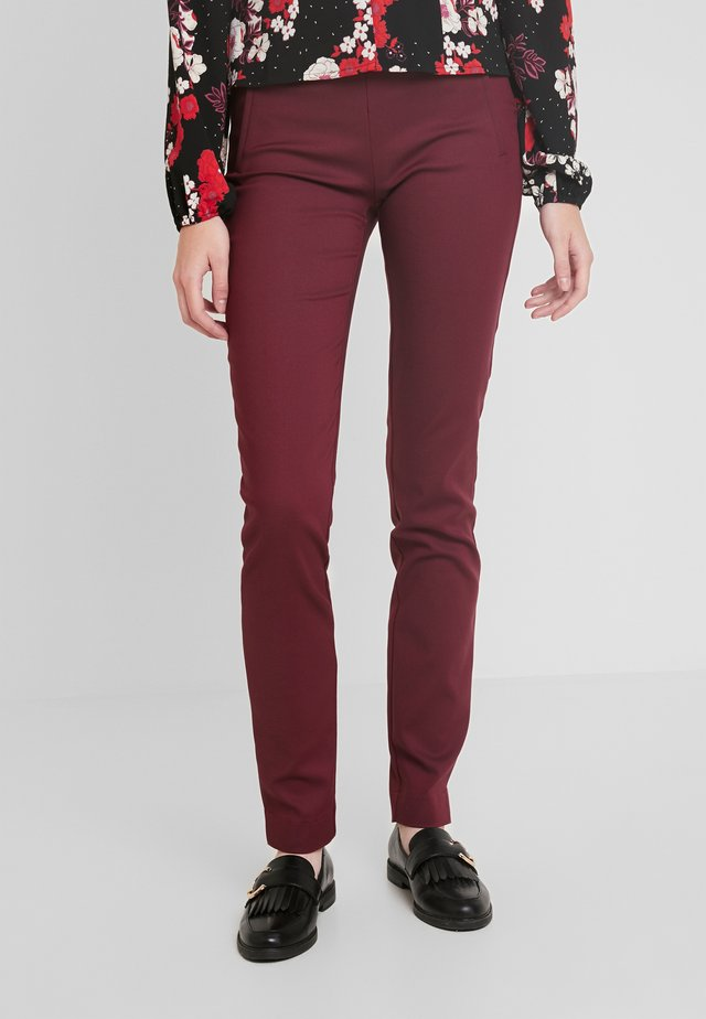 ECCO PANT  - Stoffhose - windsor wine