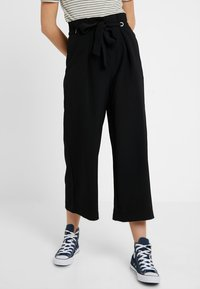 YAS Tall - YASEYLA CULOTTE - Trousers - black - 0