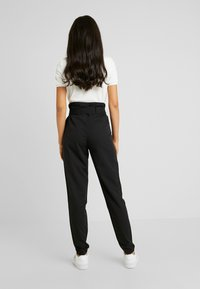 YAS Tall - YASTUDOR PANT - Pantalones - black - 3