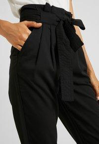 YAS Tall - YASTUDOR PANT - Pantalones - black - 4