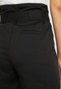 YAS Tall - YASTUDOR PANT - Pantalones - black - 6