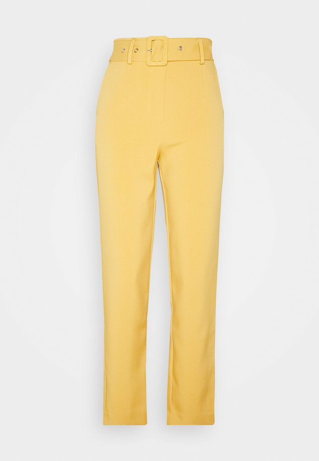 YASBUCKA CROPPED PANT  - Trousers - citrus