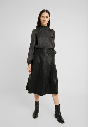 YASVANESSA NAPLON SKIRT - A-line skirt - black
