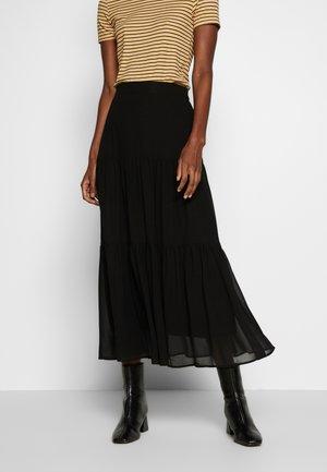 YASJUDY SKIRT - Áčková sukně - black