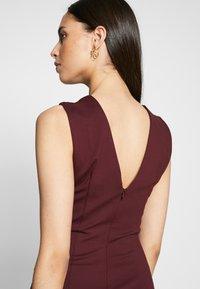 YAS Tall - YASCANE SPRING DRESS - Vestido de tubo - winetasting - 3
