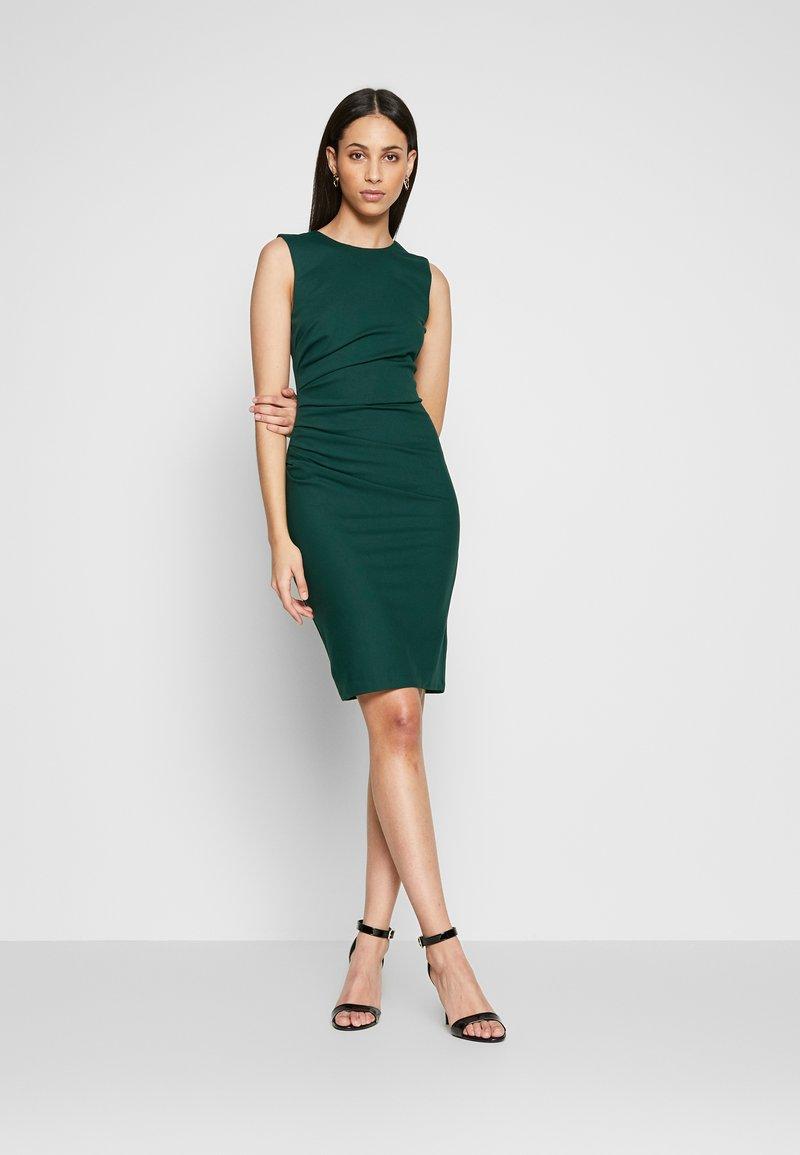 YAS Tall - YASCANE SPRING DRESS - Shift dress - ponderosa pine