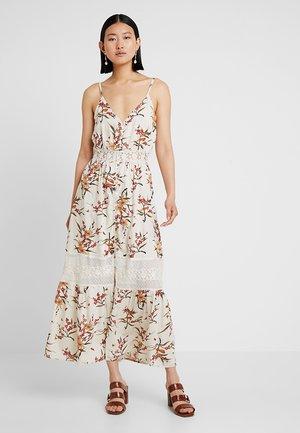 YASFIALA STRAP DRESS FEST - Maxi dress - star white