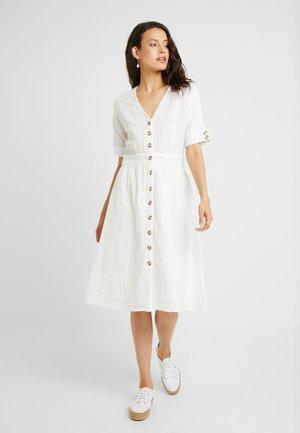 YASMEG DRESS ICONS - Robe chemise - star white