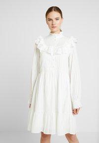 YAS Tall - YASALVA DRESS - Shirt dress - star white - 0