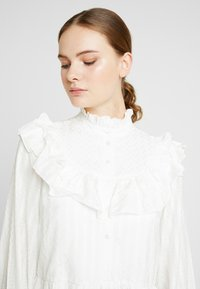 YAS Tall - YASALVA DRESS - Shirt dress - star white - 4