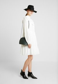 YAS Tall - YASALVA DRESS - Shirt dress - star white - 2