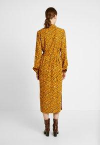 YAS Tall - YASELLA MIDI DRESS - Shirt dress - buckthorn brown - 3