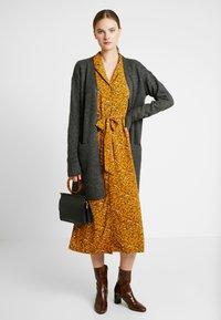 YAS Tall - YASELLA MIDI DRESS - Shirt dress - buckthorn brown - 2