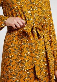 YAS Tall - YASELLA MIDI DRESS - Shirt dress - buckthorn brown - 6