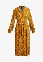 YASELLA MIDI DRESS - Abito a camicia - buckthorn brown