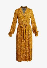 YAS Tall - YASELLA MIDI DRESS - Shirt dress - buckthorn brown - 5