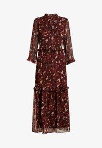 YAS Tall - YASTIFFANI ANKLE DRESS  TALL - Vestido informal - syrah - 4