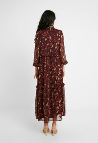 YAS Tall - YASTIFFANI ANKLE DRESS  TALL - Vestido informal - syrah - 3