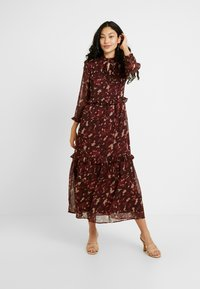 YAS Tall - YASTIFFANI ANKLE DRESS  TALL - Vestido informal - syrah - 2