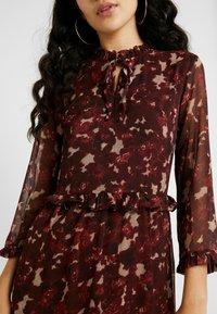 YAS Tall - YASTIFFANI ANKLE DRESS  TALL - Vestido informal - syrah - 5