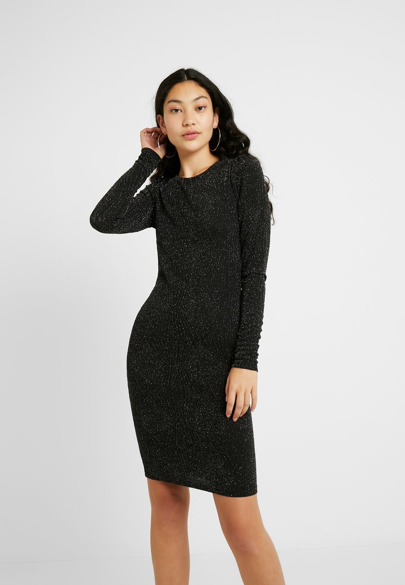 YAS Tall - YASLORETTA DRESS SHOW TALL - Sukienka etui - black