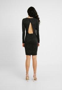 YAS Tall - YASLORETTA DRESS SHOW TALL - Sukienka etui - black - 3