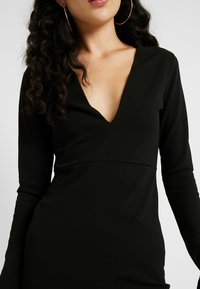 YAS Tall - YASATLANTA BODYCON DRESS - Pouzdrové šaty - black - 6