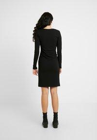 YAS Tall - YASATLANTA BODYCON DRESS - Pouzdrové šaty - black - 3