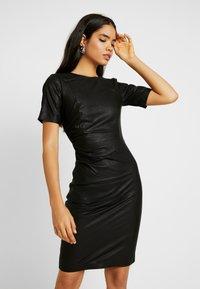 YAS Tall - YASCANE NAPLON DRESS - Sukienka etui - black - 0