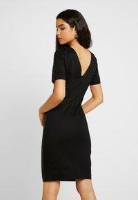 YAS Tall - YASCANE NAPLON DRESS - Sukienka etui - black - 3