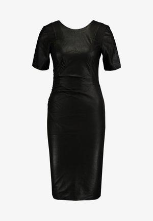 YASCANE NAPLON DRESS - Sukienka etui - black