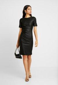 YAS Tall - YASCANE NAPLON DRESS - Sukienka etui - black - 2