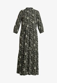 YAS Tall - YASGREENISH LONG DRESS - Maxi dress - black - 4