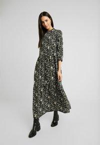 YAS Tall - YASGREENISH LONG DRESS - Maxi dress - black - 0