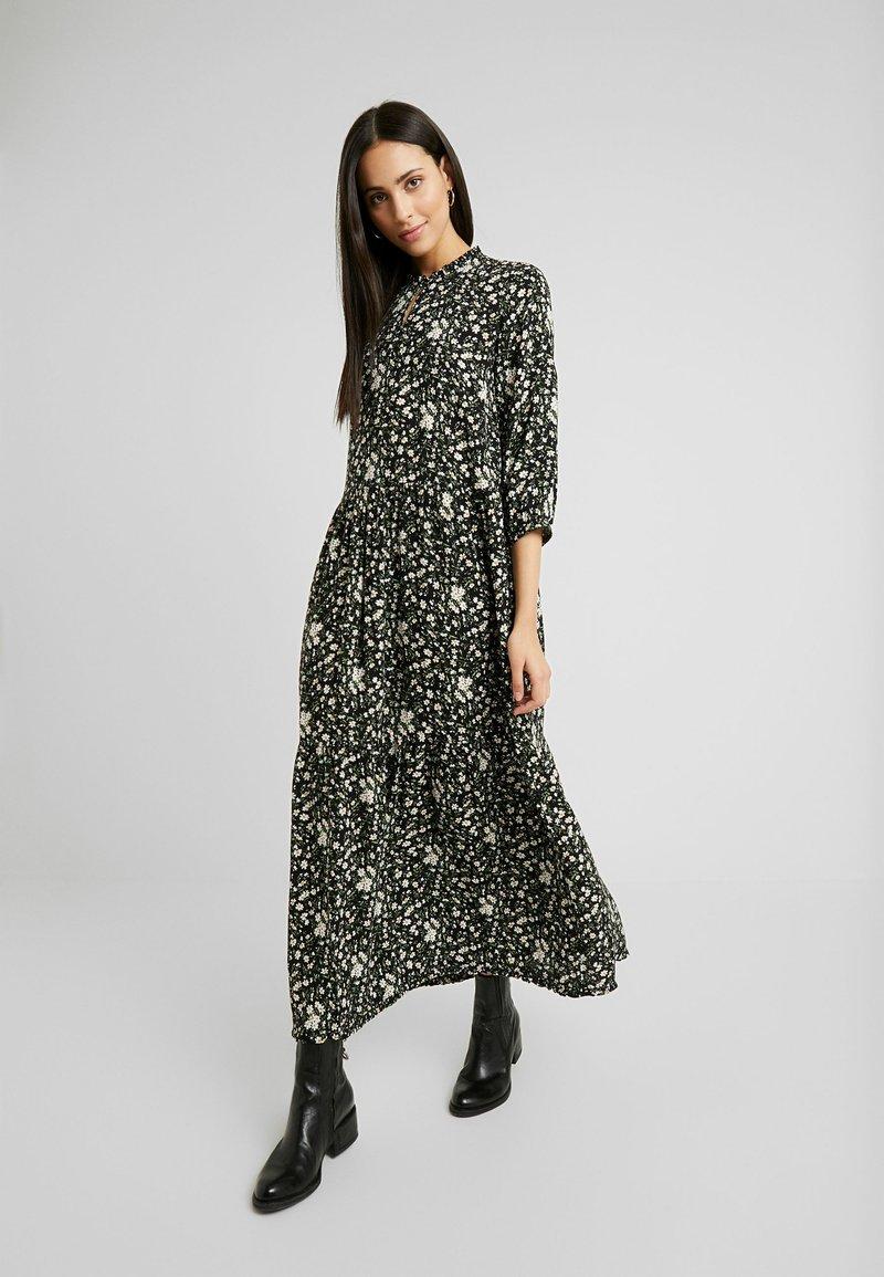 YAS Tall - YASGREENISH LONG DRESS - Maxi dress - black