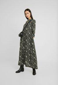 YAS Tall - YASGREENISH LONG DRESS - Maxi dress - black - 2