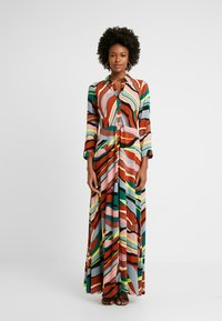 YAS Tall - YASSAVANNA LONG DRESS - Maxikjole - marsala/multi - 0