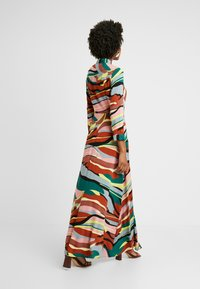 YAS Tall - YASSAVANNA LONG DRESS - Maxikjole - marsala/multi - 3