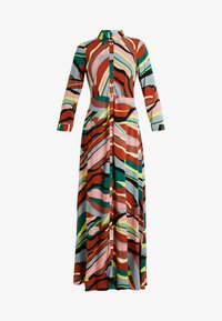 YAS Tall - YASSAVANNA LONG DRESS - Maxikjole - marsala/multi - 5