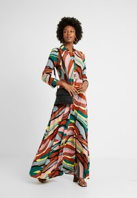YAS Tall - YASSAVANNA LONG DRESS - Maxikjole - marsala/multi - 2