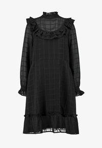 YAS Tall - YASCHECKO DRESS - Korte jurk - black - 5